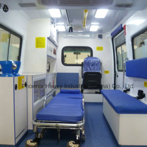 High Roof Iveco Chassis Ambulance Car with Diesel Engine pictures & photos