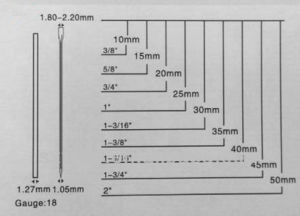 Hyduralic Gun F10 F30 F50 Nails, pictures & photos