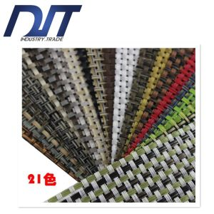 4*4 Solid Color Waterproof Anti-Skid Woven PVC Table Mat pictures & photos