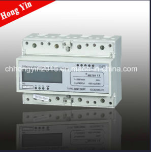 DRM1250SA Light Weight Three Phase DIN-Rail Kwh Meter pictures & photos