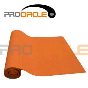 Hot Sell Colorful Yoga Accessories PVC Yoga Mat (PC-YM4001-4002) pictures & photos