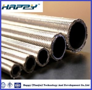 SAE100 R14 Teflon Hydraulic Lined Hose pictures & photos
