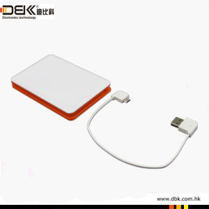 Hot Sale High Capacity and Built-in Micro USB Input Connector with 8000mAh Ls009