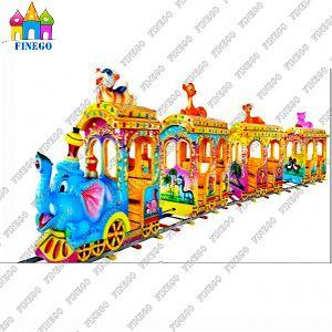 Engine Amusement Park Trackless Train for Children pictures & photos