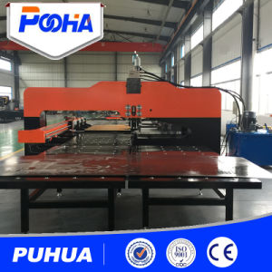 Hydraulic CNC Punch Press Machine for Thick Plate pictures & photos