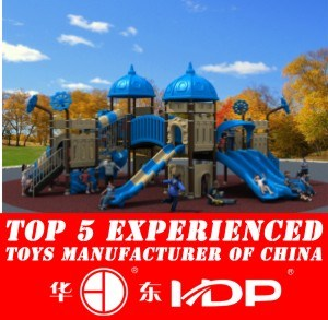 New Design Manufacturer for Children Kids Outdoor/Indoor Playground Big Slides for Sale European and Korea Castle (HD15A-012A) pictures & photos