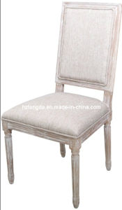 Cole Valley Dining Chair in Charcoal Gray/Beige/off-White