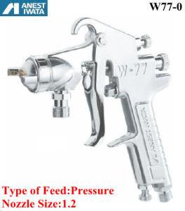Anest Iwata Air Spray Gun Pressure Feed 1.2 Nozzle pictures & photos