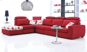 High Quality Modern Corner Sofa/ Fabric Sofa / Manufacturers Fashionable Living Room Furniture pictures & photos