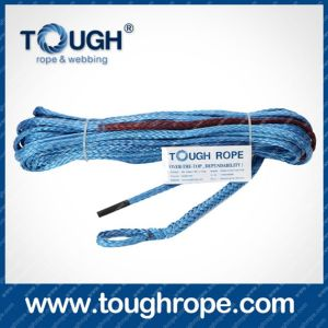 "10mm (3/8"") Winch Rope---- 9, 500kg (20, 925lbs) 30m Length, Soft Eyelet, Sleeve, Mounting Lug pictures & photos"