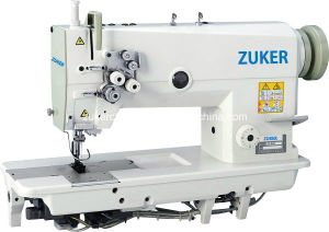 Zuker Twin 2-Needle Double Needle Lockstitch Industrial Sewing Machine (ZK842)
