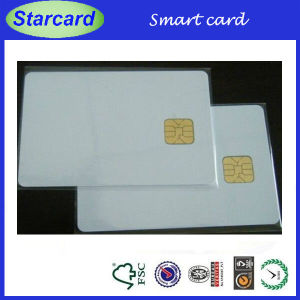 ISO7816 Approved Contact IC Card with Sle5542 /5528 Chip pictures & photos