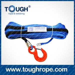 "92ft. 1/2"" Synthetic Winch Rope, Hook & Hawse Fairlead pictures & photos"