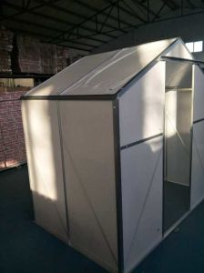 Garden Green House with Polycarbonate Sheet and Aluminium Frame for Flowers pictures & photos