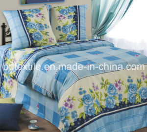 Classical Printed Microfiber for Bedding Sheet Set pictures & photos