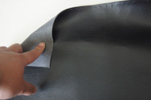 Elephant Grain Embossed PU Leather pictures & photos