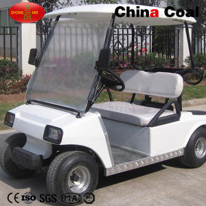 2 Seaters Battery Powered Electric Golf Cars pictures & photos