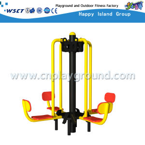 Sitting and Pedaling Machine Outdoor Gym Equipment with TUV (M11-03714) pictures & photos