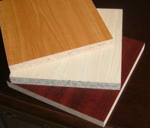 Wood Grain Color Melamine Particle Board pictures & photos