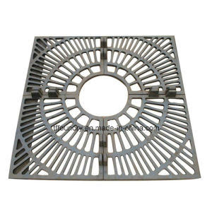 Custom Size Square Ductile Iron Tree Gratings with Square Frame En124 pictures & photos