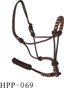 Comfortable Western Rope Adjustable Horse Halter pictures & photos