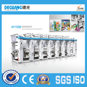 High Speed Prining Machine Price for Plastic Film pictures & photos