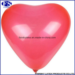Wholesale Good Quality Colourful Party Balloons 12inch Heart Shape Latex Balloon pictures & photos
