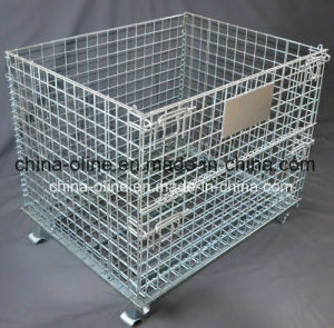 Steel Metal Storage Mesh Container pictures & photos