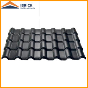 Synthetic Resin Tile Roofing Asa PVC Plastic Roof Tile Plastic Spanish Roof  Tile