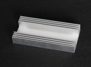 Aluminum Extruded Heat Sink pictures & photos