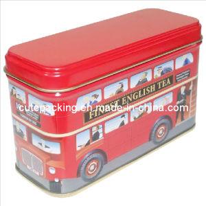 FDA Approved Bus Shaped Tea Tin Box (TB13)