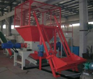 Double Shaft Shredder Device WCMT-1600