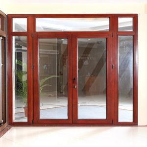 Aluminum Clad Wood Door (TS-209) pictures & photos