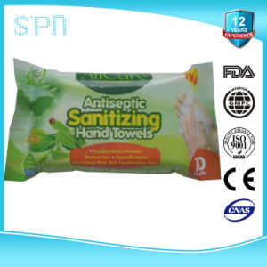 100%Bamboo Nonwovens OEM Antiseptic Sanitizing Hand Cleaning Towels pictures & photos