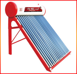 Non-Pressurized Vacuum Tube Solar Water Heater pictures & photos