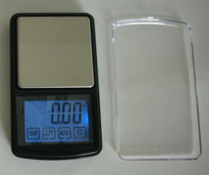 Strain Gauge Precision Technology Pocket Scale with Backlight (HCP-10A) pictures & photos