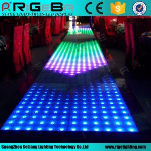 Party Disco DJ DMX Control Glass 60*60cm RGB Effect LED Dance Floor Light pictures & photos