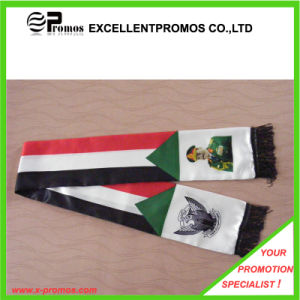 Logo Customized Best Quality Soccer Fan Scarf (EP-W9067B) pictures & photos