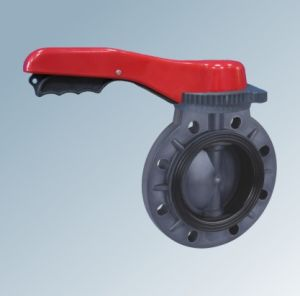 UPVC Handwheel Butterfly Valve pictures & photos