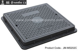 SMC FRP Composite Decorative Manhole Cover for Drainage System (JM-MS202C C/O550*550) pictures & photos