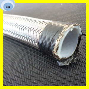 Stainless Steel Wire Covered Teflon Hose PTFE Hose R14 pictures & photos