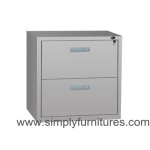2 Drawers Metal Lateral File Cabinet for Office (T6S-LCH2) pictures & photos