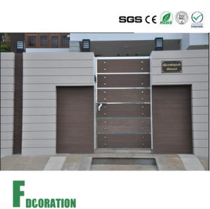 Waterproof WPC Timber Decking Wall Panel for Outdoor Gate pictures & photos