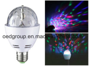Special Design RGB LED Globe Bulb 360degrees with E27 B22 E14 E26 pictures & photos