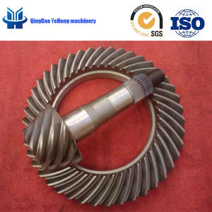BS2800 Helical Bevel Gear 13/46 Truck Parts Differential Gear Spiral Bevel Gear pictures & photos