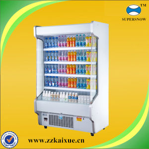 Counter Cmmercial Display Dairy and Fruit Refrigerator