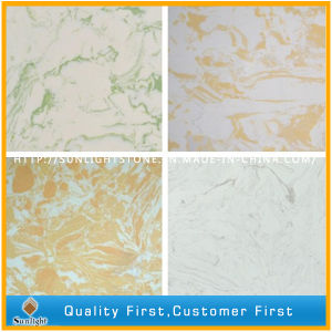 Engineer Solid Surface Artificial Marble Stone for Countertops/Tiles/Slabs pictures & photos