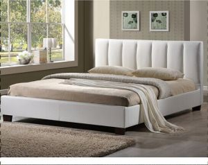 Simple Europe PU Bed Vb-01 pictures & photos