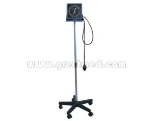 Hospital Floor Type Aneroid Sphygmomanometer pictures & photos