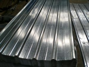 Galvanized Color Coated Corrugated Steel Roofing Sheets pictures & photos